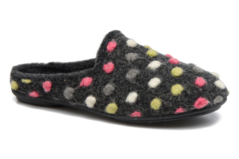 Pantoffels Rondinaud Rimarde Grijs detail