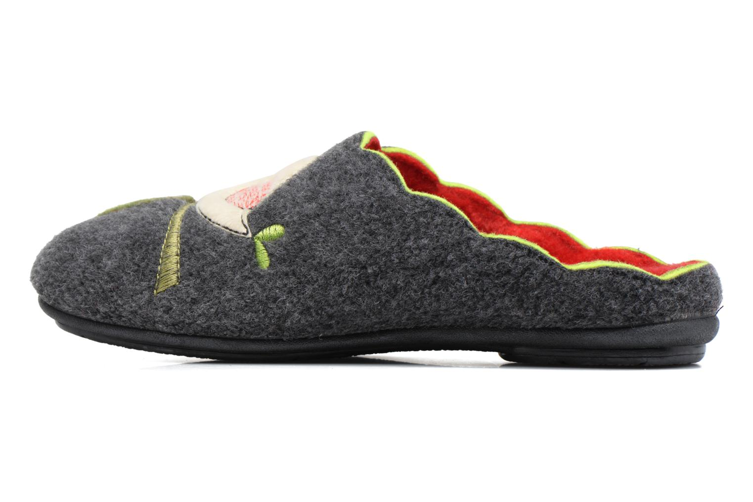 Chaussons Rondinaud Restonica Gris vue face