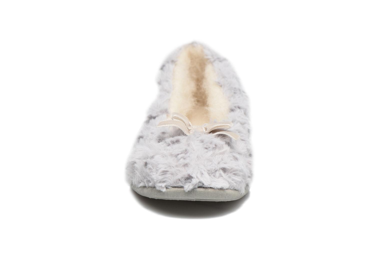 Chaussons Rondinaud Amage Gris vue portées chaussures