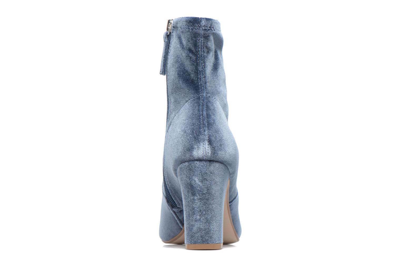 Bottines et boots Steve Madden Avenue Bleu vue droite