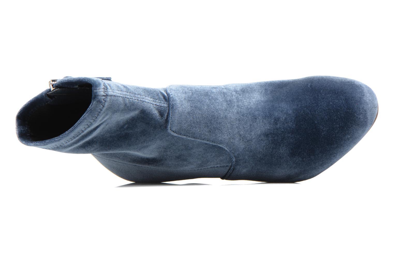 Bottines et boots Steve Madden Avenue Bleu vue gauche