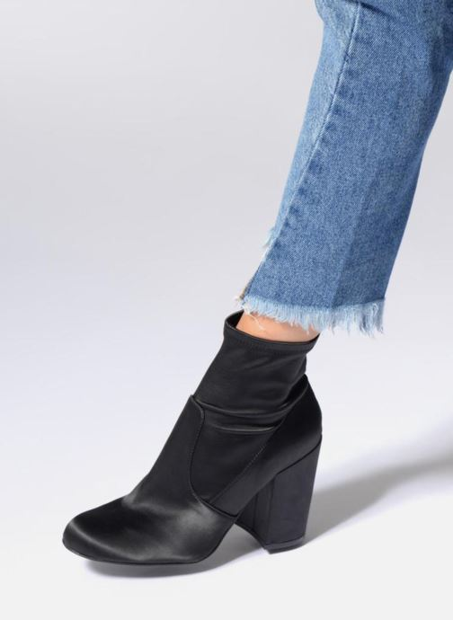 Ankle boots Steve Madden Gaze Black view from underneath / model view