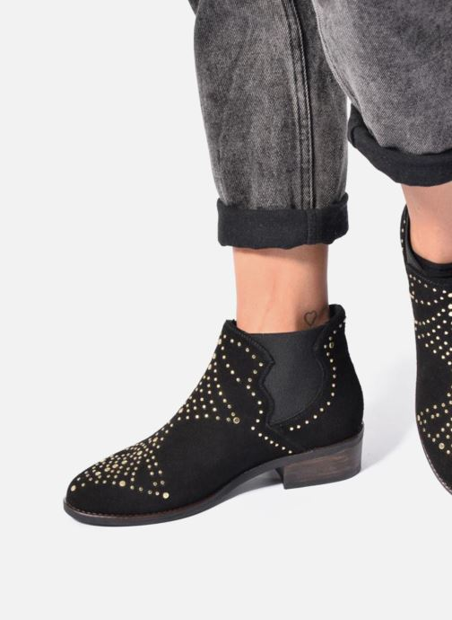 Bottines et boots Steve Madden Jipp Noir vue bas / vue portée sac