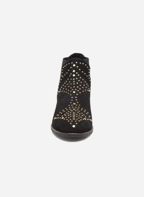 Bottines et boots Steve Madden Jipp Noir vue portées chaussures
