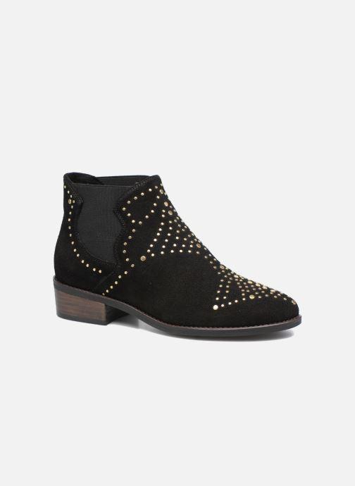 Boots en enkellaarsjes Steve Madden Jipp Zwart detail