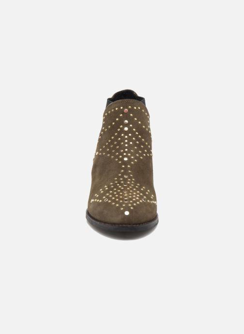 Bottines et boots Steve Madden Jipp Vert vue portées chaussures