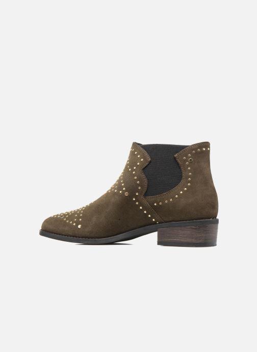 Boots en enkellaarsjes Steve Madden Jipp Groen voorkant