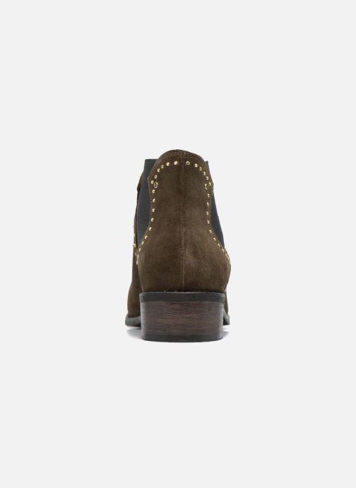 Boots en enkellaarsjes Steve Madden Jipp Groen rechts