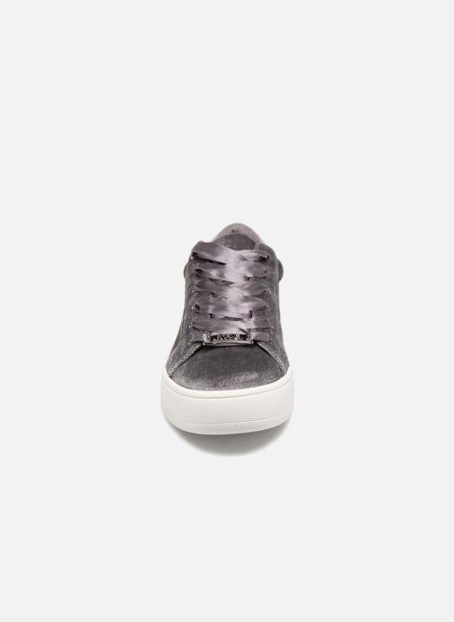 Baskets Steve Madden Bertie V Gris vue portées chaussures