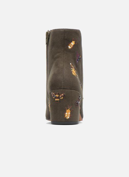 Bottines et boots Steve Madden Livia Vert vue droite