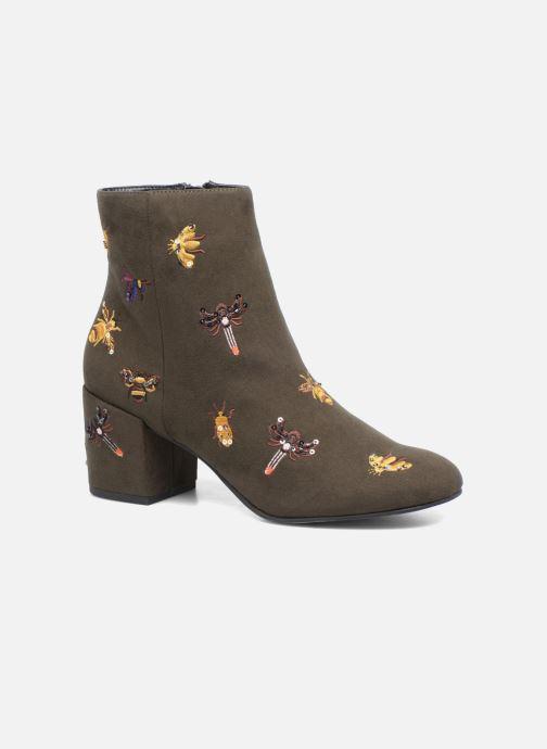 Bottines et boots Steve Madden Livia Vert vue détail/paire