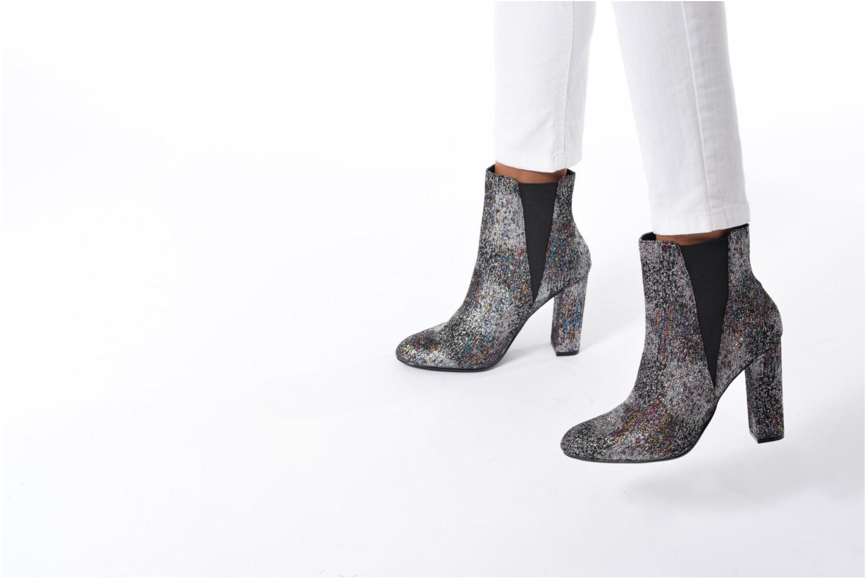 Bottines et boots Steve Madden Effect Multicolore vue bas / vue portée sac