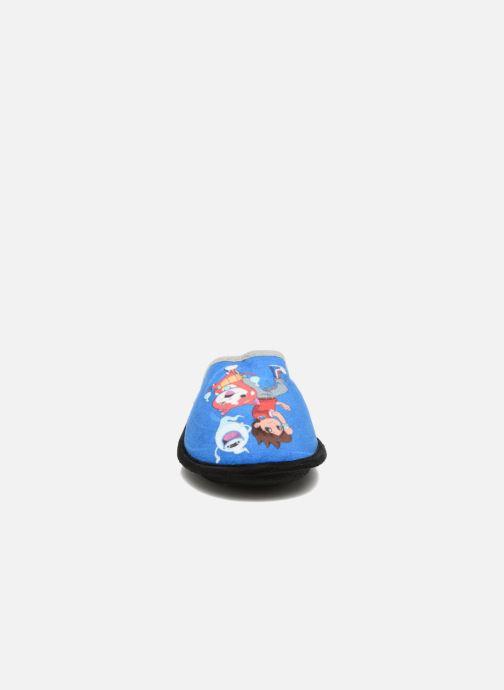 Pantuflas Yo-Kai Watch  Swan Azul vista del modelo