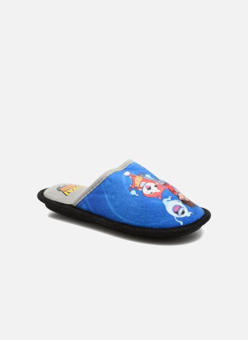 Slippers Yo-Kai Watch  Swan Blue detailed view/ Pair view