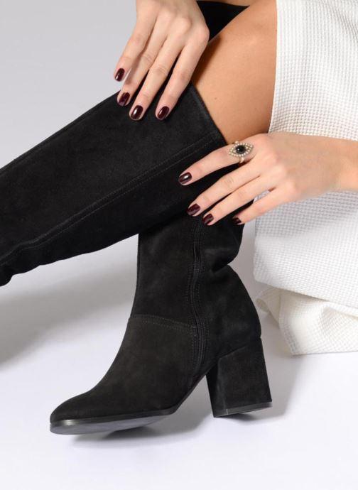 Stiefel Georgia Rose Opra schwarz ansicht von unten / tasche getragen