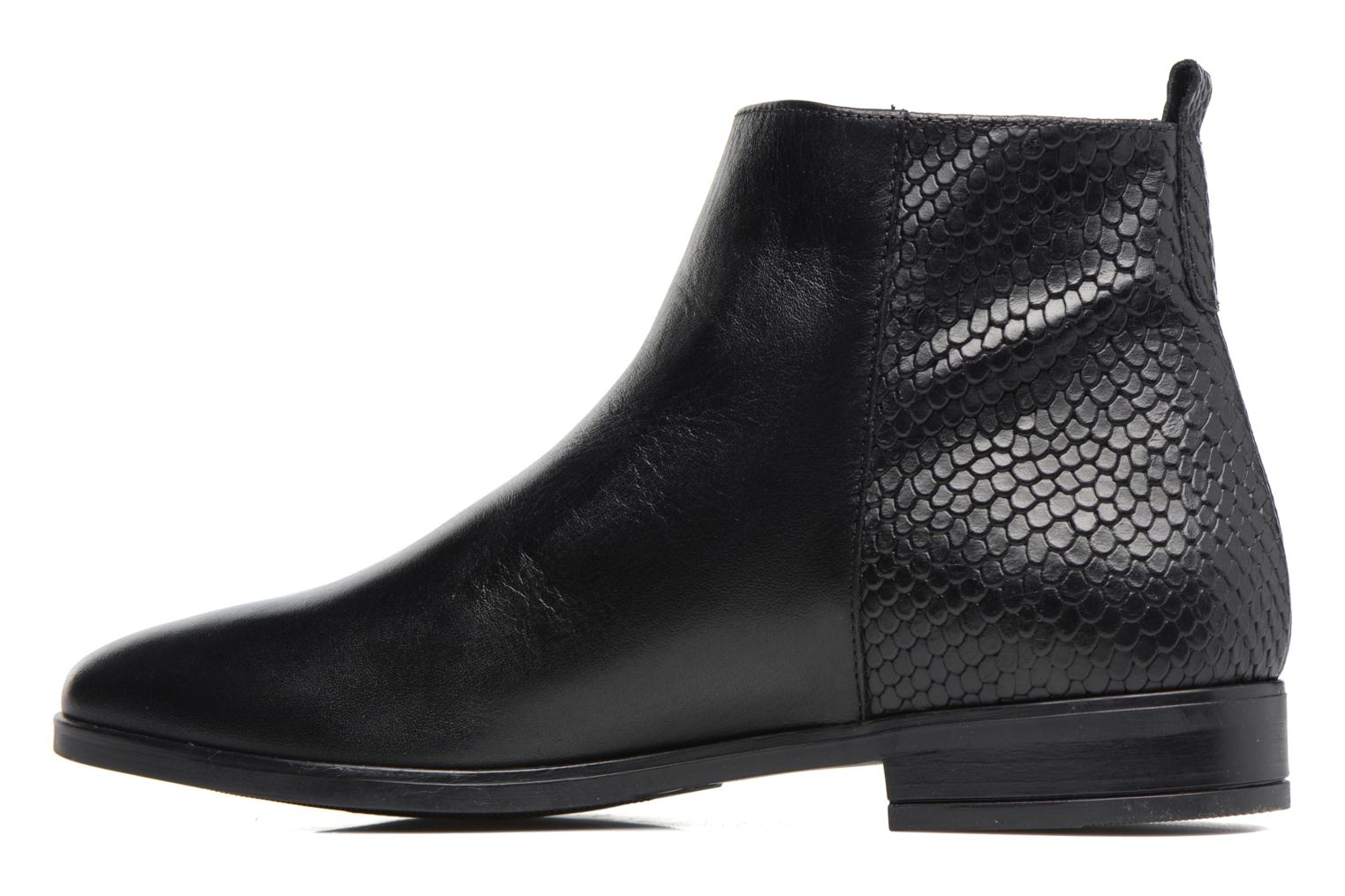 Ankle boots Georgia Rose Olimpe Black front view
