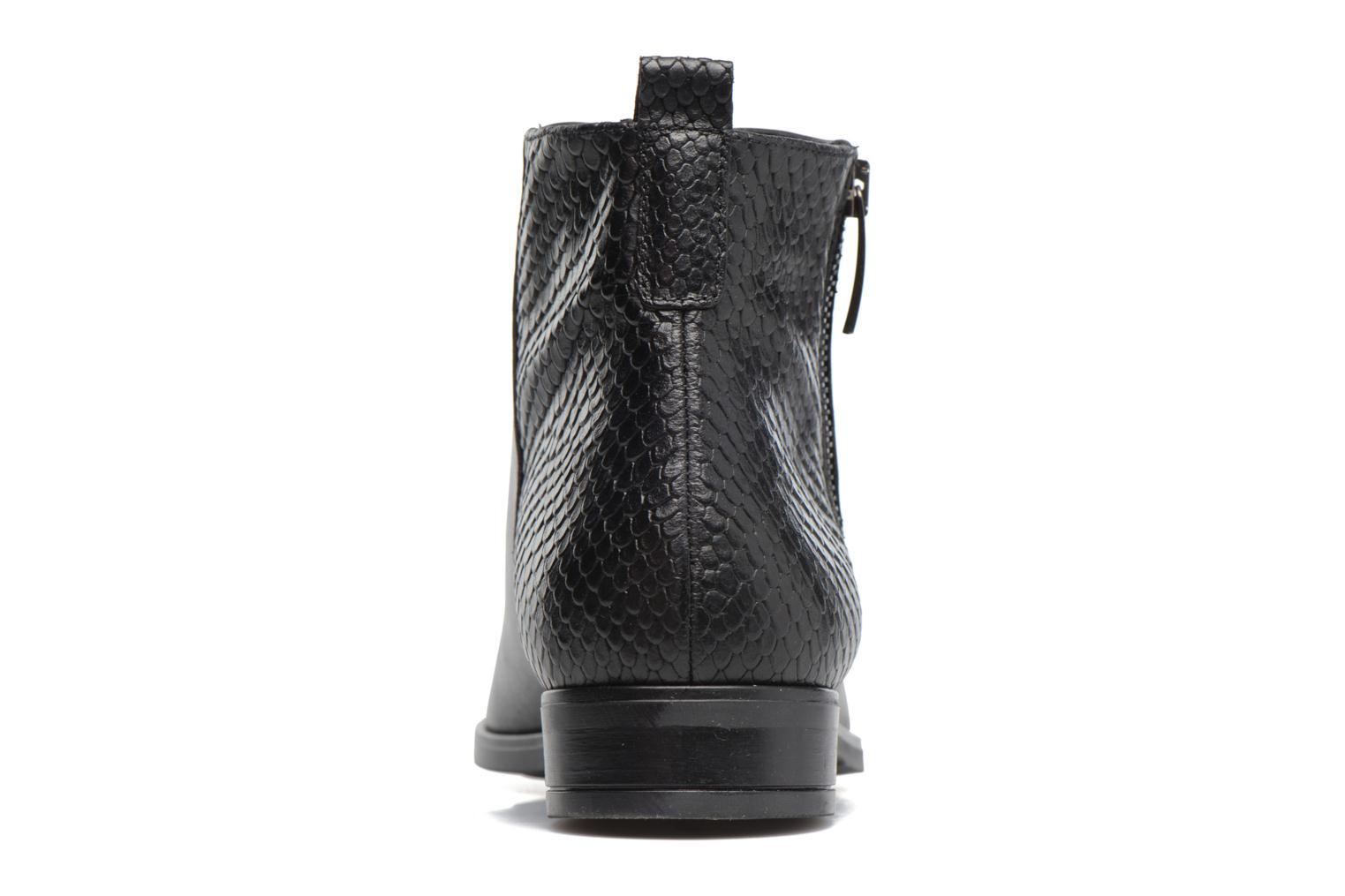 Ankle boots Georgia Rose Olimpe Black view from the right