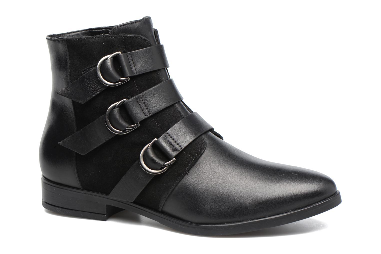 Bottines et boots Georgia Rose Olivian Noir vue détail/paire