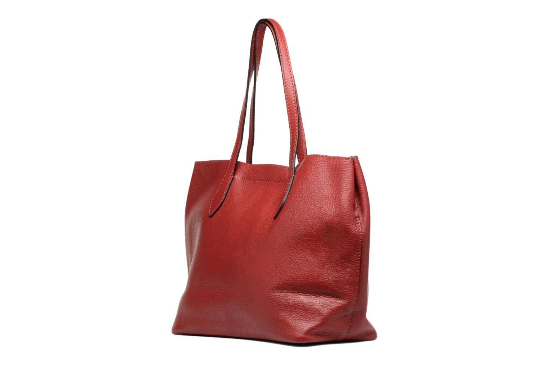 Handtassen Loxwood Sac Shopper Rood rechts