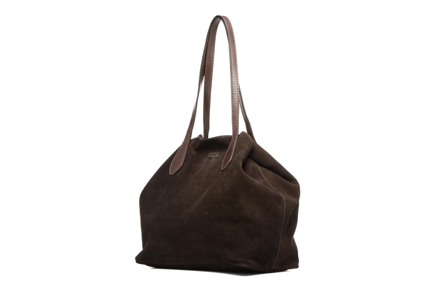 Borse Loxwood Sac Shopper Marrone modello indossato