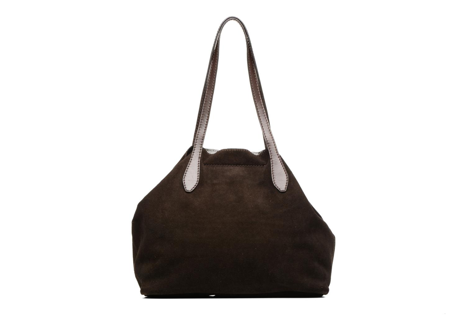 Handbags Loxwood Sac Shopper Brown front view