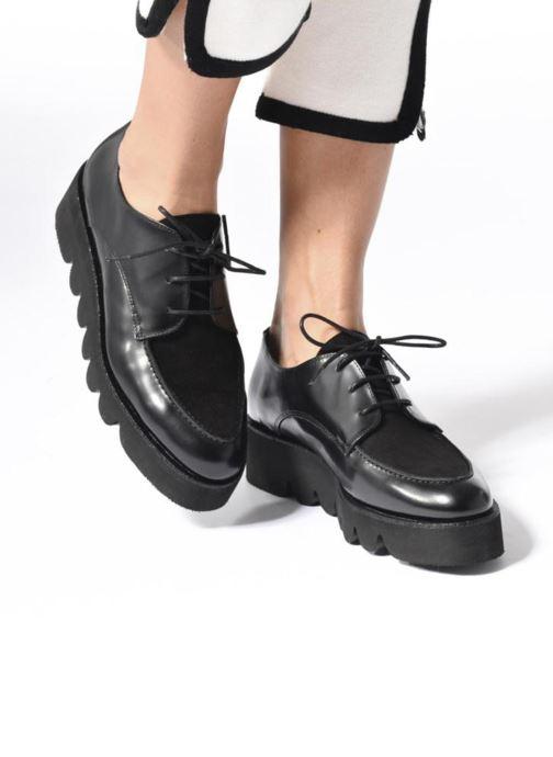 Zapatos con cordones Anaki Stacey Negro vista de abajo