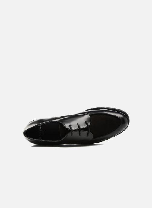 Zapatos con cordones Anaki Stacey Negro vista lateral izquierda