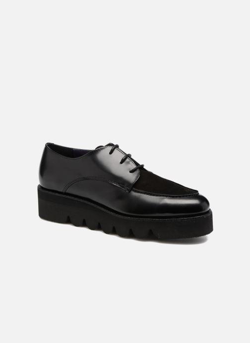 Snøresko Anaki Stacey Sort detaljeret billede af skoene