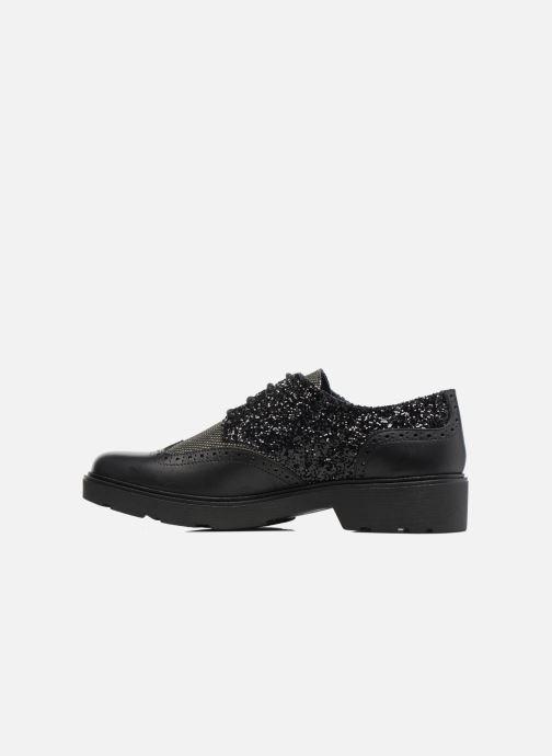 Chaussures à lacets Anaki Nicky Noir vue face