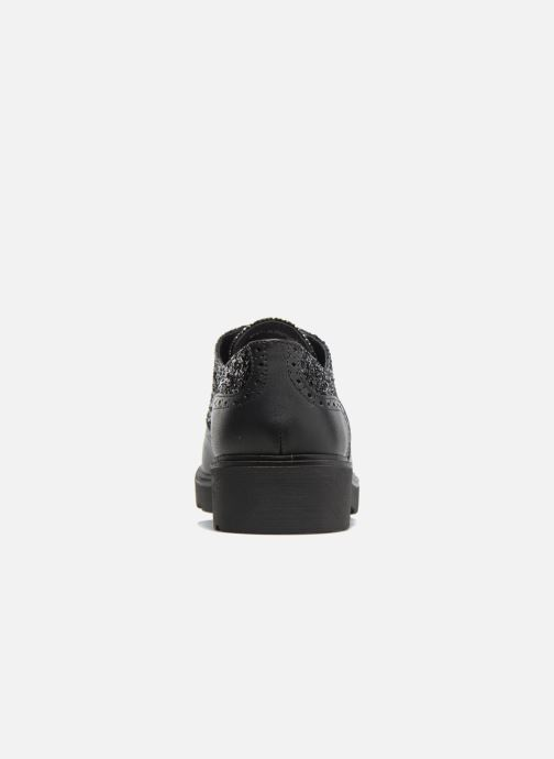 Lace-up shoes Anaki Nicky Black view from the right