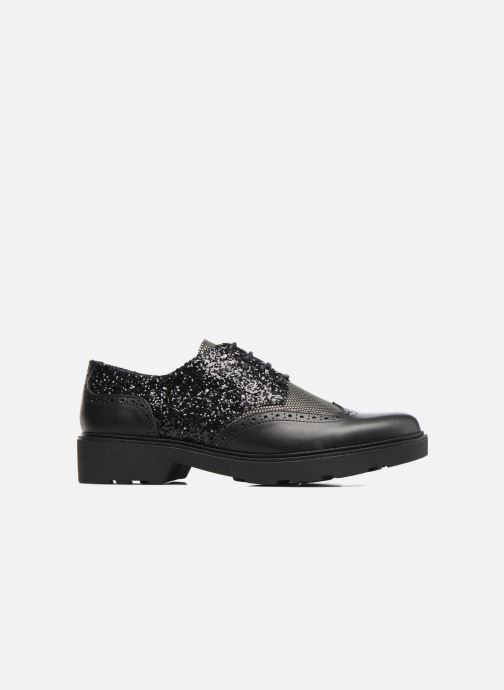 Lace-up shoes Anaki Nicky Black back view