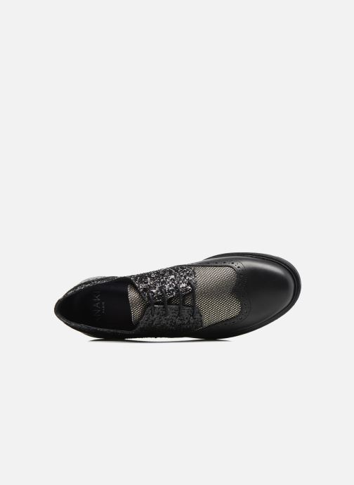 Lace-up shoes Anaki Nicky Black view from the left