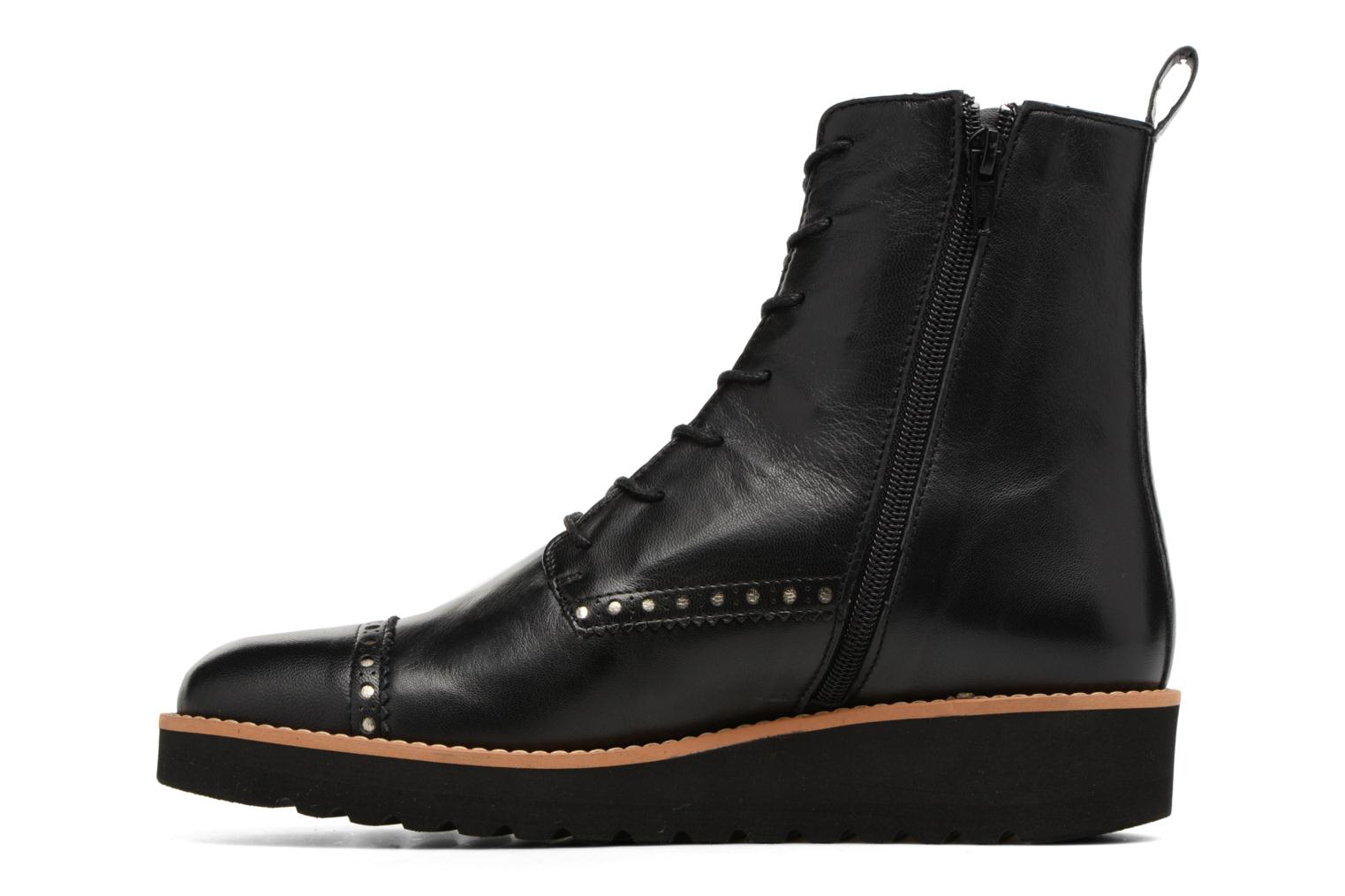 Ankle boots Anaki Johnny Black front view