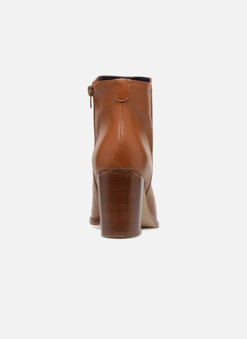 Ankle boots Anaki Jada Brown view from the right