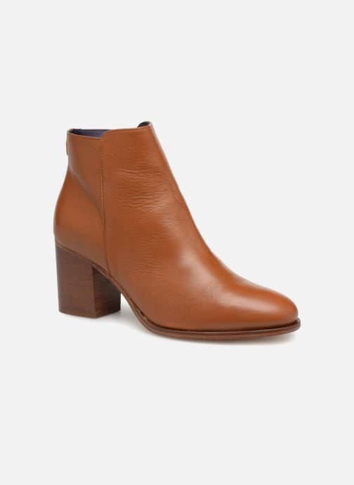 Ankle boots Anaki Jada Brown detailed view/ Pair view