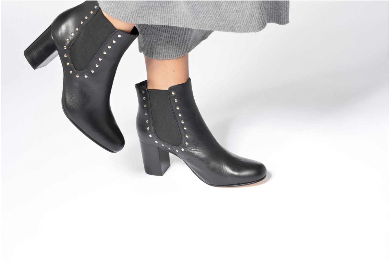 Bottines et boots Anaki Mary Noir vue bas / vue portée sac
