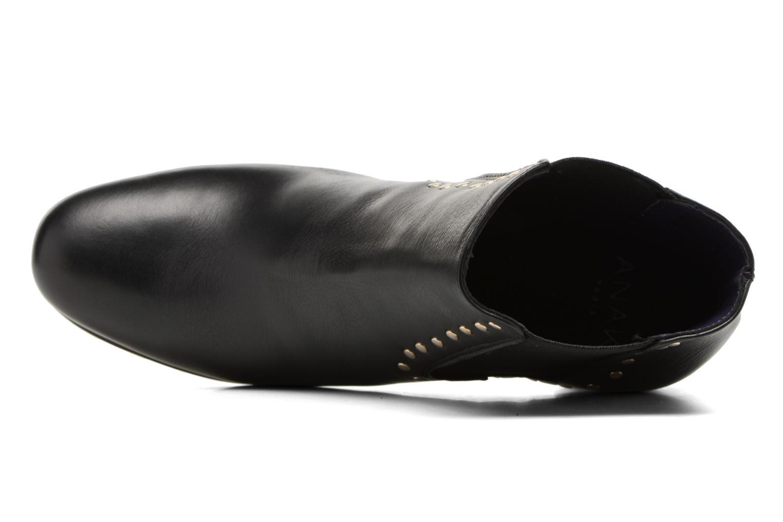 Bottines et boots Anaki Mary Noir vue gauche