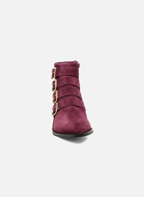Ankle boots Anaki Sofia Purple model view