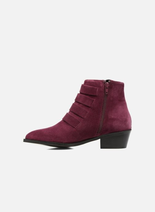 Ankle boots Anaki Sofia Purple front view
