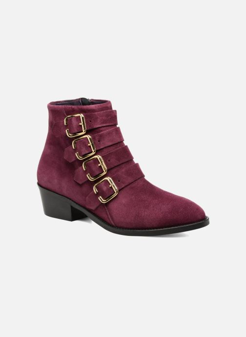 Ankle boots Anaki Sofia Purple detailed view/ Pair view