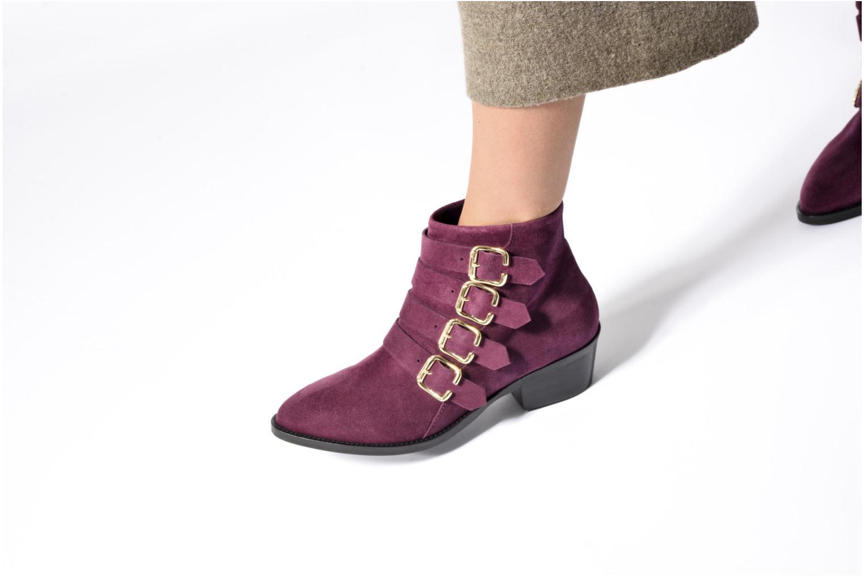 Bottines et boots Anaki Sofia Marron vue bas / vue portée sac
