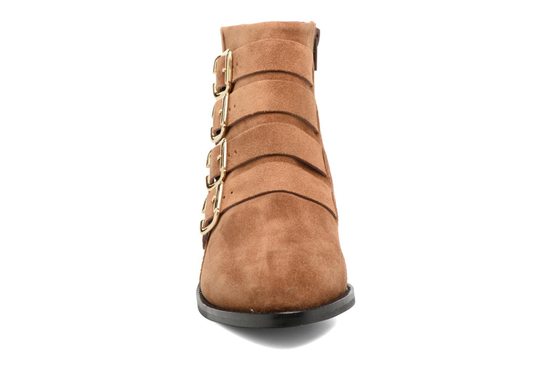 Bottines et boots Anaki Sofia Marron vue portées chaussures
