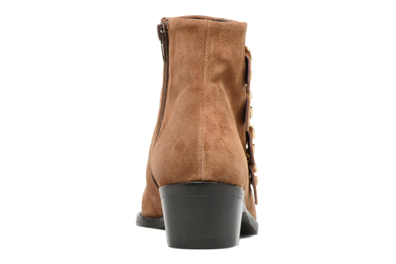 Bottines et boots Anaki Sofia Marron vue droite