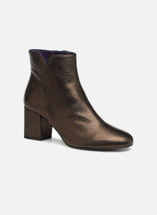 Bottines et boots Anaki Virgin Marron vue détail/paire