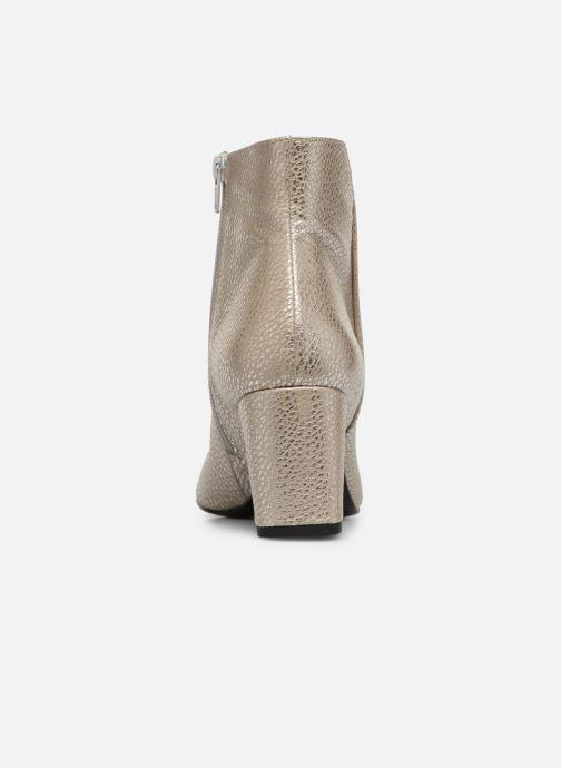 Bottines et boots Anaki Virgin Argent vue droite
