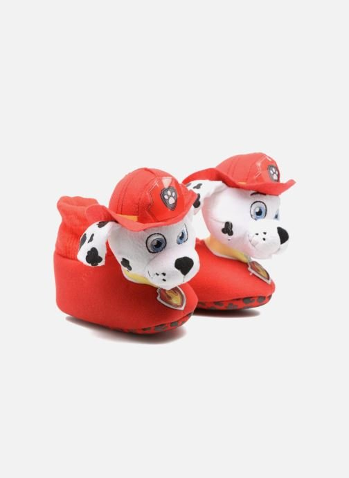 Slippers Pat Patrouille Scottish Red detailed view/ Pair view