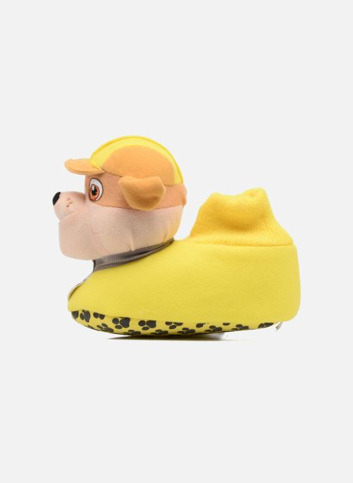 Slippers Pat Patrouille Scottish Yellow front view