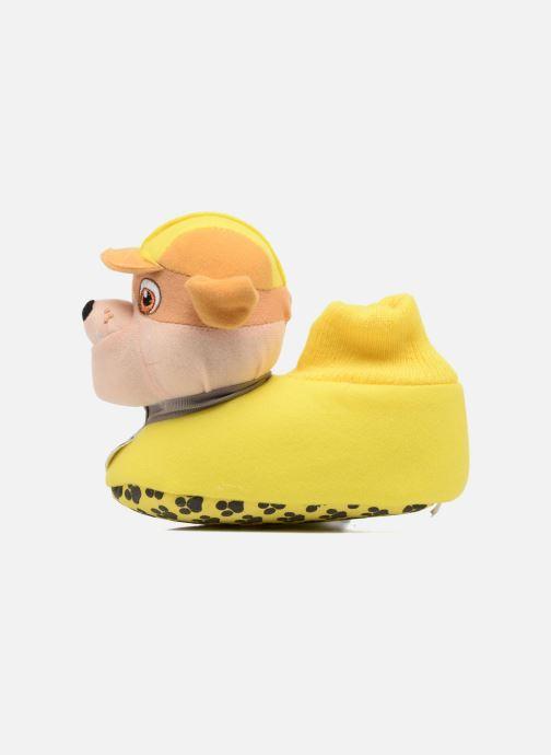 Pantofole Pat Patrouille Scottish Giallo immagine frontale