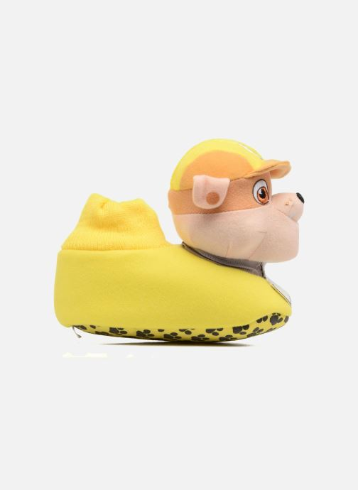 Slippers Pat Patrouille Scottish Yellow back view