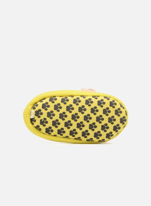 Slippers Pat Patrouille Scottish Yellow view from above